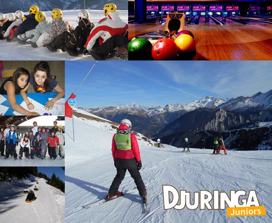 colonies de vacances 100 % ski