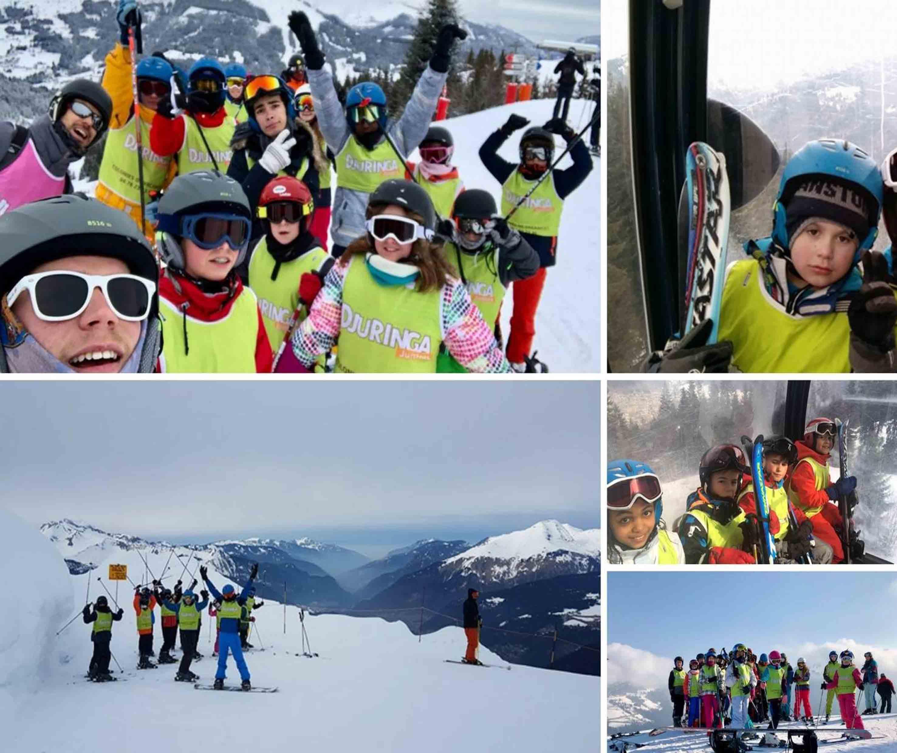 Colonies de vacances ski